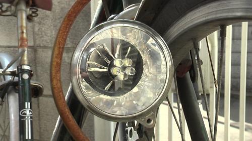 自転車ライトのLED化
